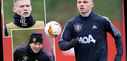 Unknown teen Connor Stanley trains with Man Utd first team as McTominay and Lindelof return ahead of Club Brugge clash – The Sun