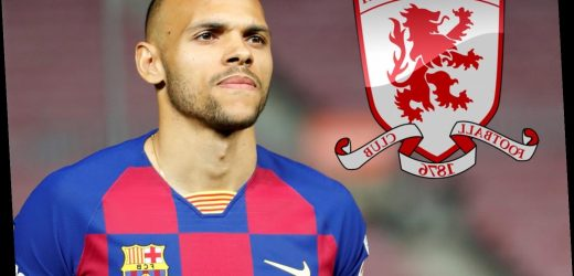 Barcelona signing Martin Braithwaite provides transfer boost to Championship Middlesbrough thanks to £2m sell-on clause – The Sun