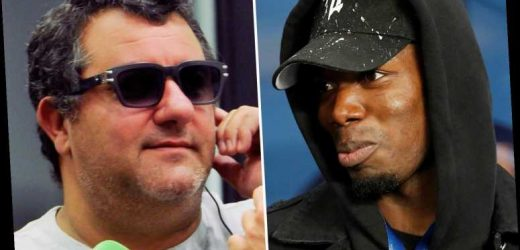 Paul Pogba's agent Raiola slams Solskjaer as 'out of line' and admits star is only committed to Man Utd until summer – The Sun