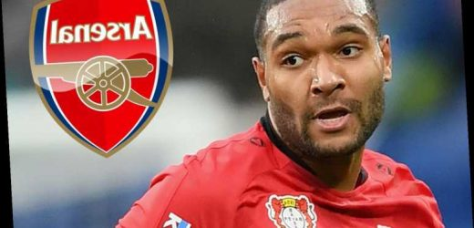 Arsenal consider triggering £34m transfer release clause of Jonathan Tah but must act quickly to sign Germany defender – The Sun
