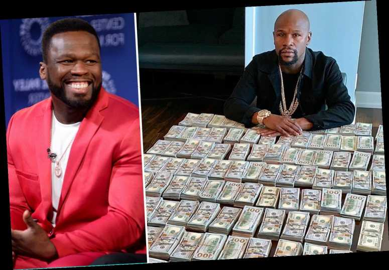 Floyd Mayweather needs to return to boxing as he has ran out of money, claims bitter rap rival 50 Cent – The Sun