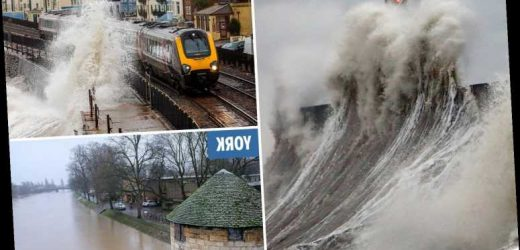 UK weather forecast – Storm Dennis claims first two victims in rough seas as deadly 'bomb cyclone' batters Britain – The Sun