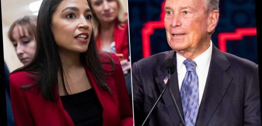 AOC blasts Michael Bloomberg over 'stop-and-frisk' as three black lawmakers endorse him