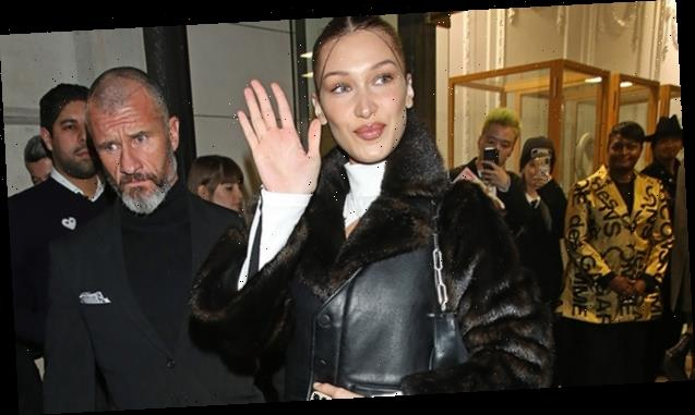 Leather Coats: Bella Hadid, Kendall Jenner & More Stars Rock The Edgy Trend