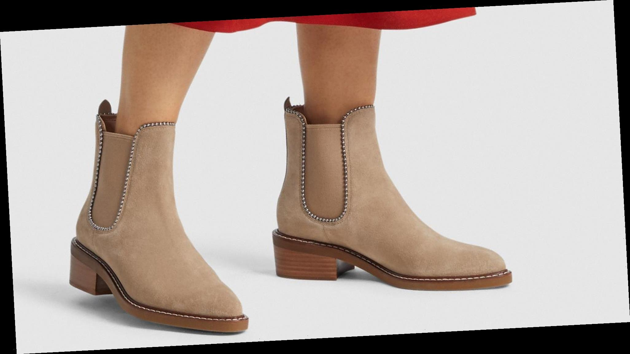This Is Your Last Chance to Grab These Coach Booties for 50% Off