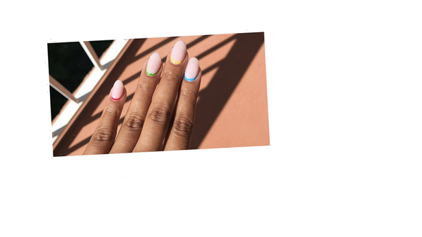 The Inverted French Manicure Is Our Favorite Spin on the Classic Look