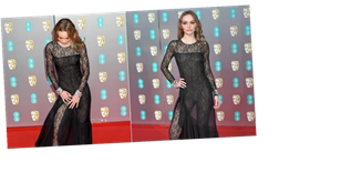 Lily-Rose Depp Wore a Sexy Lace Catsuit to the BAFTAs, Giving New Meaning to the Naked-Dress Trend