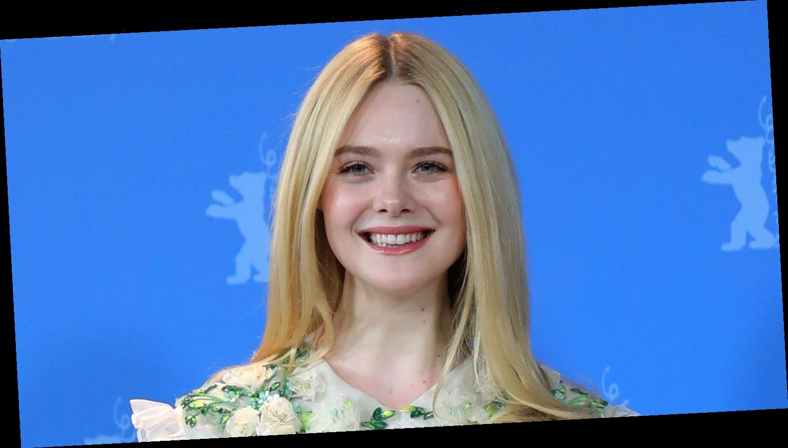 Elle Fanning Wears Fresh Off The Runway Dress to 'The Roads Not Taken' Photo Call In Berlin