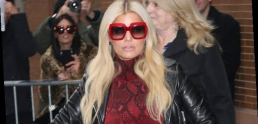 Jessica Simpson's Book Tour Press Looks: Snakeskin Dress & More Of Her Fabulous Outfits