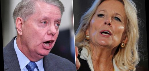 Jill Biden: Lindsey Graham seeking investigations into family 'a little hurtful'