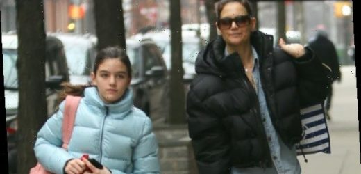 Katie Holmes, 41, Is All Smiles During Her Fun Day Out With Daughter Suri, 13, In New York City