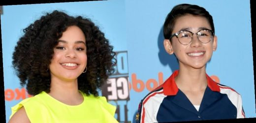 Nathan Janak & Gabrielle Nevaeh Green Dress Up As Ariana Grande & Beyonce For Nickelodeon Event