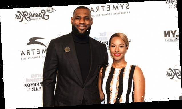 LeBron James Gazes At His Wife Of 6 Years Savannah After His Game & Fans Live For It: 'Love Is Beautiful'