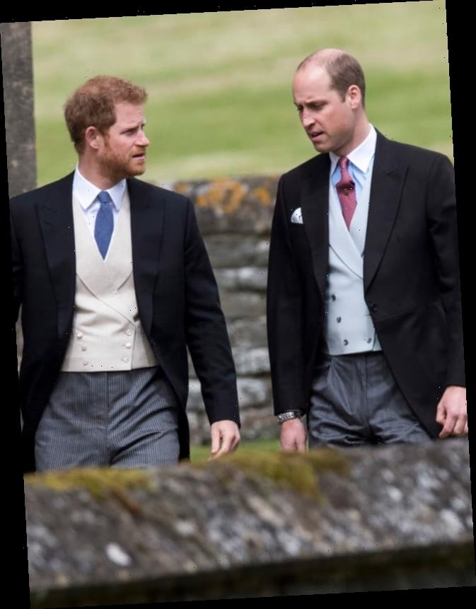 """Prince Harry Left UK on """"Bad Terms"""" With Prince William, Source Says"""