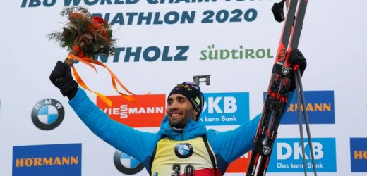 Biathlon: Frenchman Martin Fourcade wins 11th world title, equalling all-time record