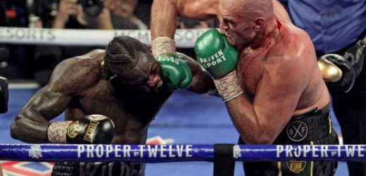 Boxing: Tyson Fury's promoter urges Deontay Wilder to ditch rematch rights