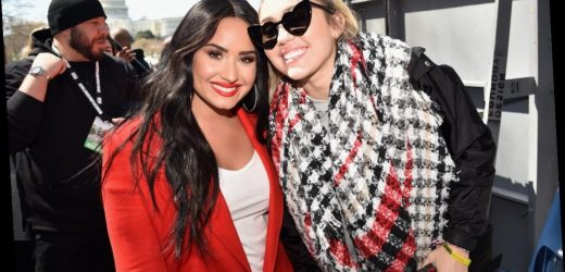 Miley Cyrus & Demi Lovato's Quotes About Body Image From Their Instagram Live Are So Raw