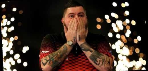 Michael Smith hits first Premier League nine-darter since 2017 vs Daryl Gurney