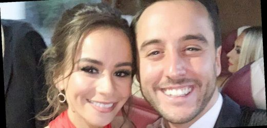 Dancing On Ice's Alexander Demetriou shuts down split rumours with loved up snap