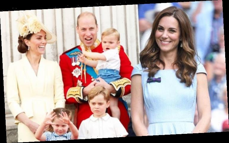 Kate Middleton dresses George and Charlotte in the same outfits for surprising reason
