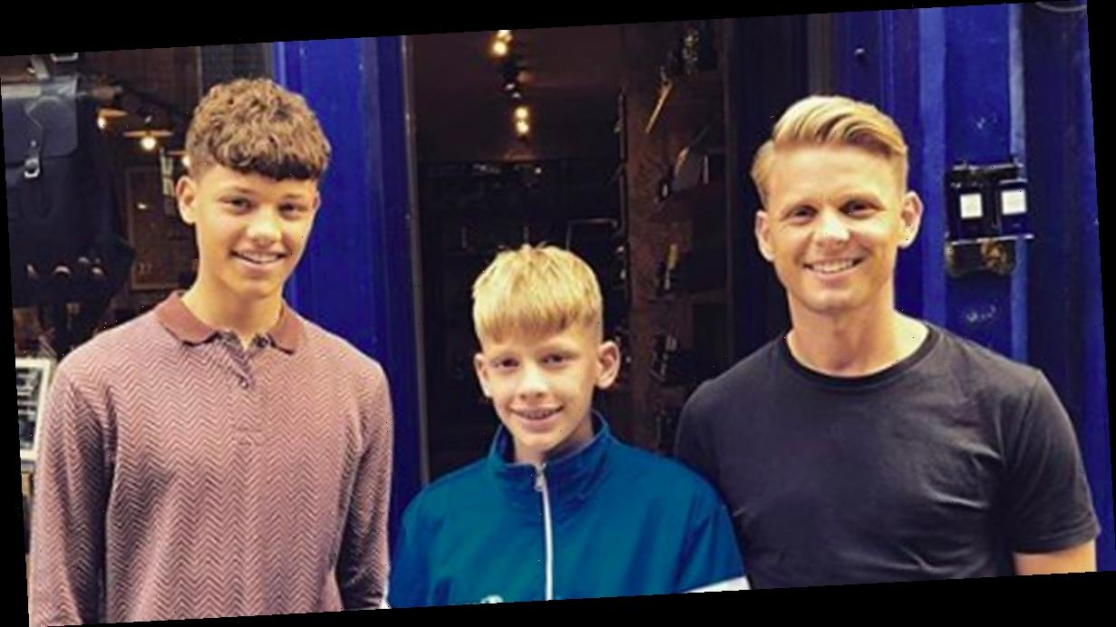 Jeff Brazier reveals he's rationing food for sons Bobby and Freddie during coronavirus lockdown