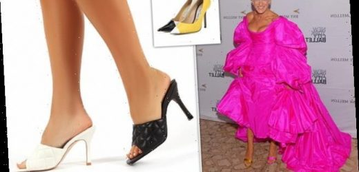 Best of both! Mismatched shoes becomes spring's must-have style