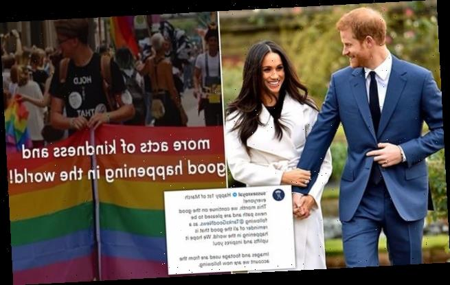 Prince Harry and Meghan Markle follow one Instagram account for March