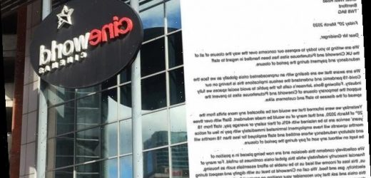 800 cinema staff write to Cineworld boss demanding their jobs back
