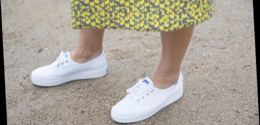 Your Childhood Sneakers Are Cool Again & Here's The New Way To Wear Them