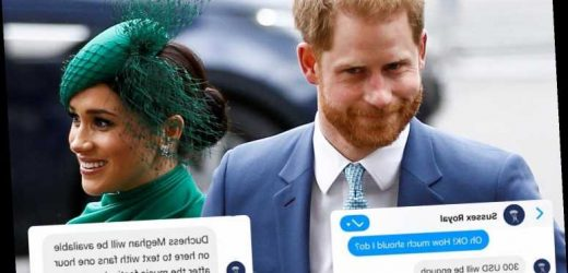 Meghan Markle and Prince Harry fans targeted by fake Facebook page offering chats with the Duchess for cash – The Sun