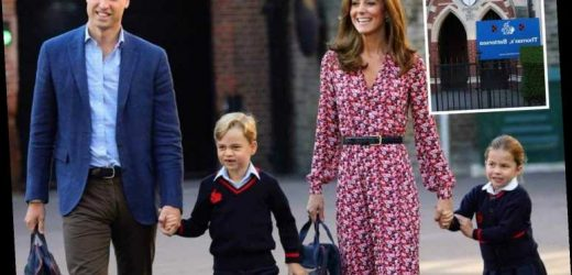 Prince George and Princess Charlotte will now be home-schooled over coronavirus fears – The Sun