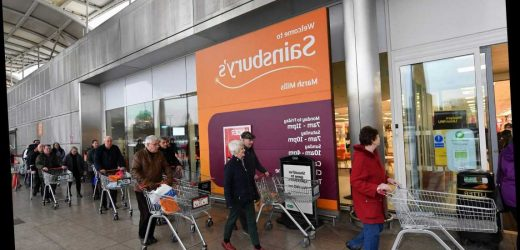Sainsbury's opening times today as coronavirus could force UK into lockdown