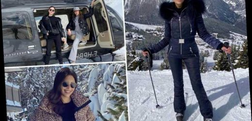 Rich Kids of Russia feared to have caught coronavirus on jet-setting ski trip to France