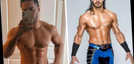 WWE star Mustafa Ali shows off incredible body transformation in just FOUR weeks with ripped abs and physique – The Sun