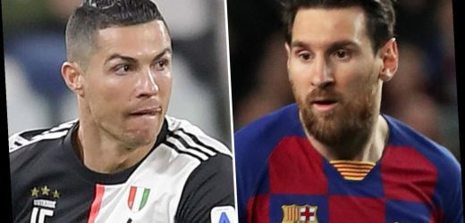 Messi and Ronaldo named the richest footballers in the world – and are the only players to top £100MILLION in 2019 – The Sun
