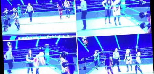 Incredible leaked footage shows WWE stars STOP wrestling during commercial breaks during behind closed doors SmackDown – The Sun