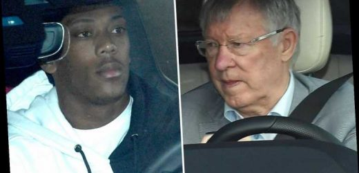 Sir Alex Ferguson arrives at Man Utd training as stars head in after celebrating derby win over City – The Sun