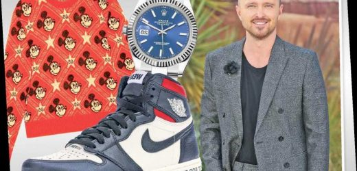 Aaron Paul on his essentials: sneakers, mezcal and Gucci