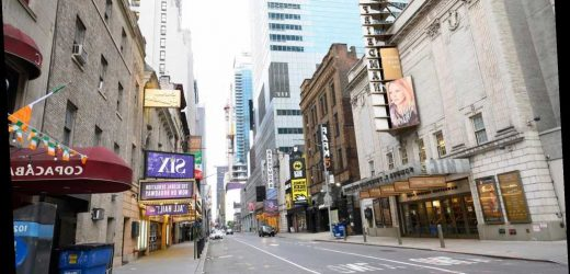 For once, Broadway isn't going to quickly bounce back