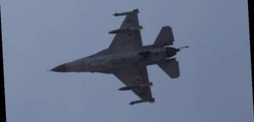 Syrian state media says unidentified jets hit border town with Iraq