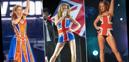 Geri Halliwell on Her Iconic Spice Girls Union Jack Dress – and Why a Stylist Told Her Not to Wear It