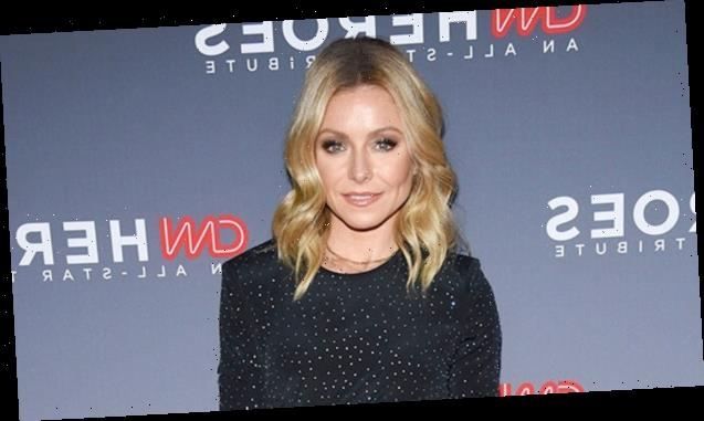 Kelly Ripa, 49, Shows Off Her Grey Hair While On 'Roots Watch' During NYC Lockdown