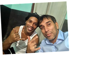 Ronaldinho is 'sad' in prison, says ex-Paraguay striker after releasing new picture of Brazil legend behind bars – The Sun