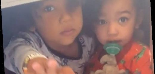 Kim Kardashian's Video of Her 4 Kids Playing Will Warm Your Heart
