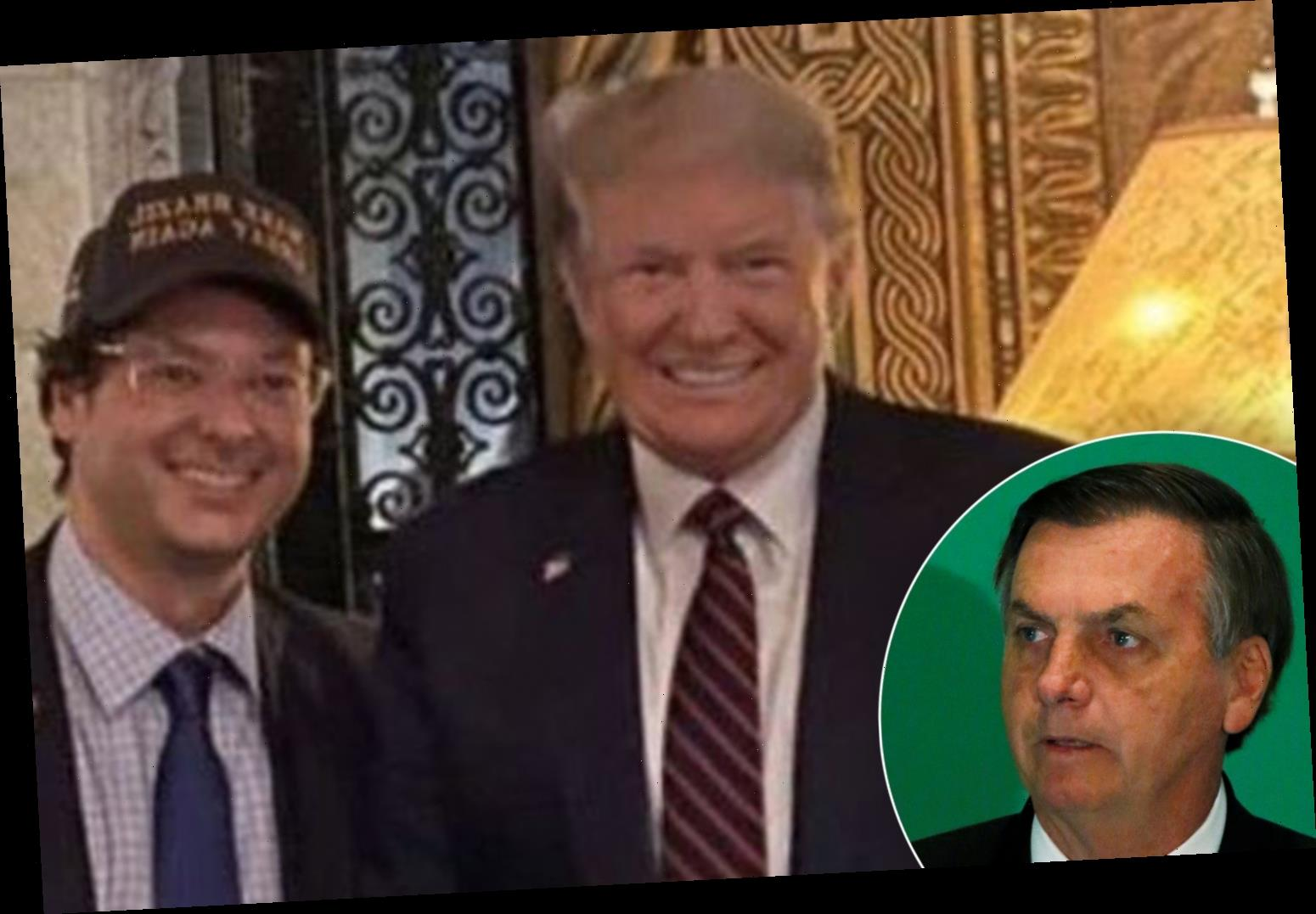 Brazilian president aide tests positive for coronavirus days after posing with Trump and VP Mike Pence at Mar-a-Lago – The Sun