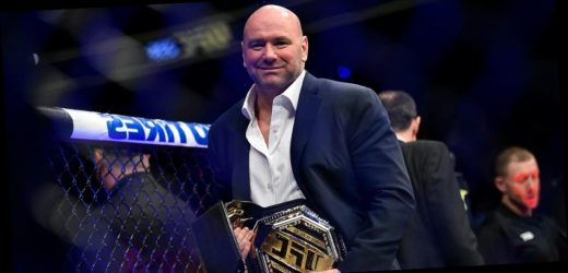 UFC boss Dana White is fed up with the coronavirus 'bulls—' he says he is being forced to deal with