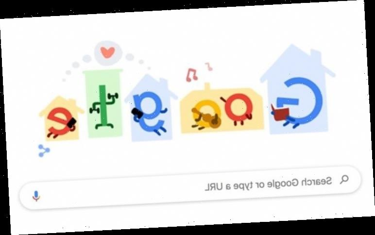 Google Doodle: Coronavirus message urges public to 'stay home, save lives'