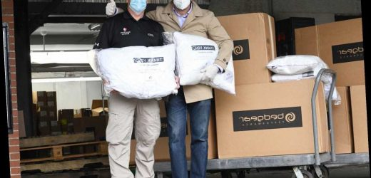 Hero of the Day: Bedding manufacturer donates pillows to health care workers