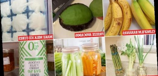 Food storage hacks to make supplies last longer during lockdown