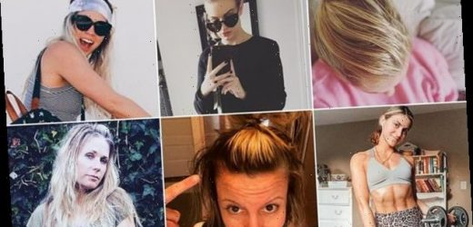 Brits share snaps of greasy locks after ditching washing hair